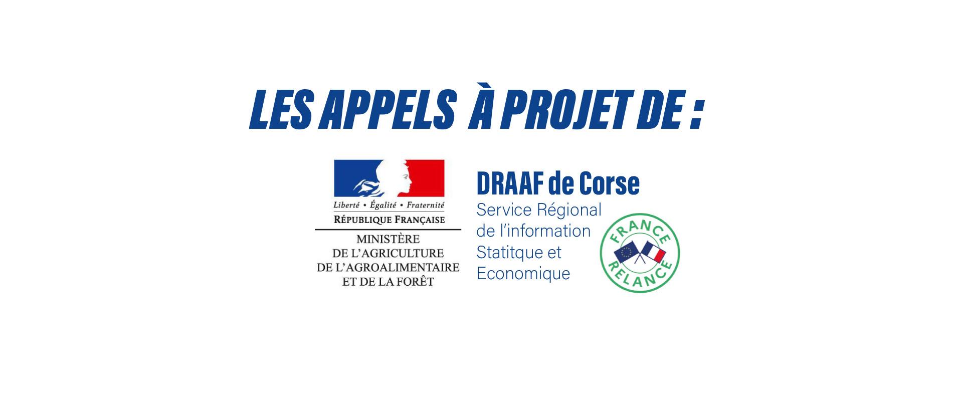 DRAAF : Les appels à projets de la Direction Régionale de l'Alimentation, de L'Agriculture et de la Forêt