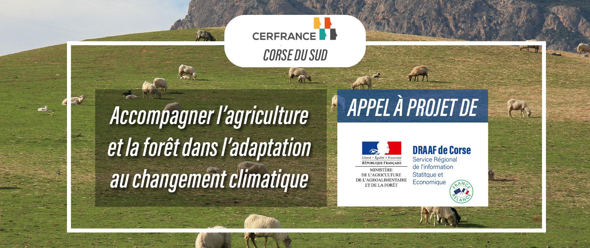 Accompagner l'agriculture et la forêt dans l'adaptation au changement climatique